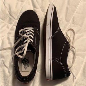 Black vans size 9 hardly worn